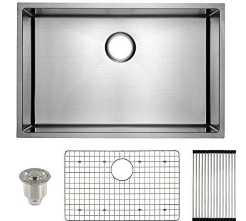 FRIGIDAIRE Undermount Stainless Steel Kitchen Sink, 16 ...